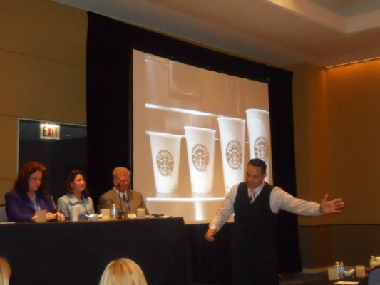 Pete Thomas presents at the 2012 Corporate Wellness Conference