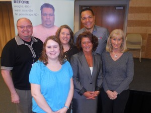 Pete Thomas and the Oakland Schools Wellness Team