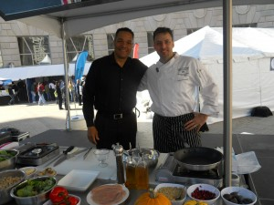 Pete Hosts Cooking Demonstration in Washington D.C.