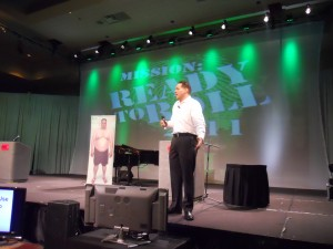 Pete Speaks Before 1,200 at Pilot Flying J Conference